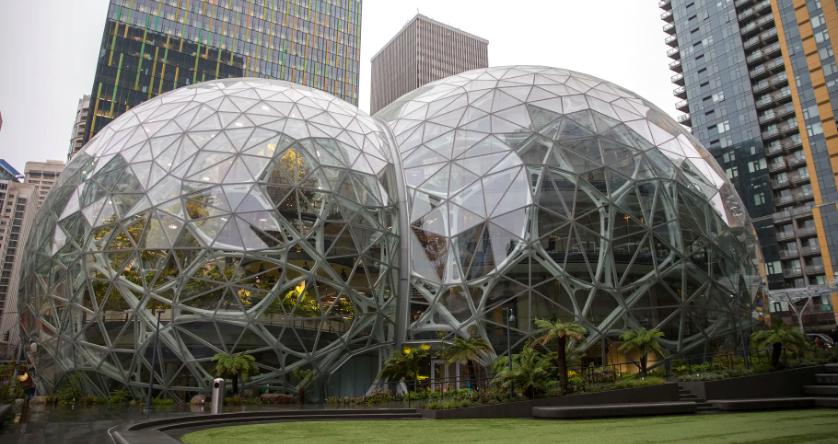 Amazon Giant Glass Domes
