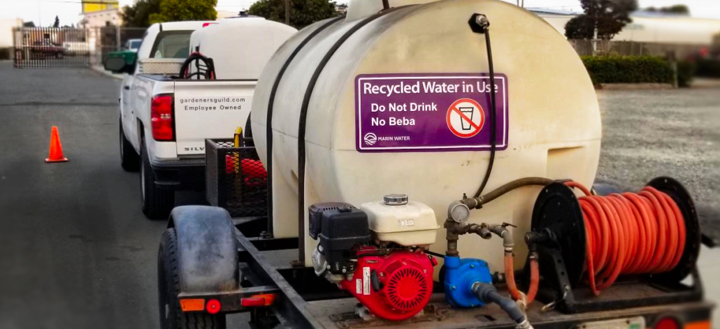 Recycled Water Truck