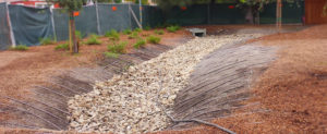 GGI dry creek bed project at Spring Lake Village, Santa Rosa